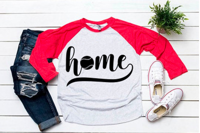 Home svg for baseball tshirt