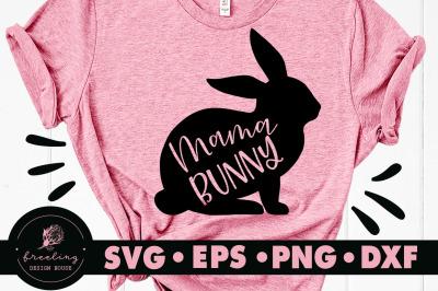 Mama Bunny SVG
