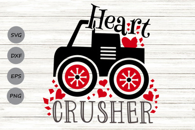 Heart Crusher Svg, Valentine's Day Svg, Boys Valentine Svg, Funny Svg.