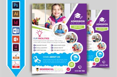 School Flyer Template Vol-07