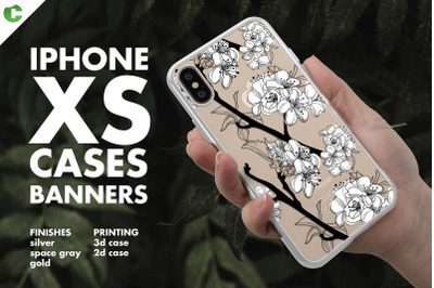 iPhone XS Case Banners Mock-ups vs4