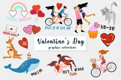 Valentine's Day vectors and cards