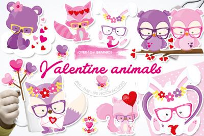 Valentine Animals