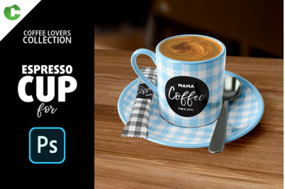 Espresso Cup Mock-up