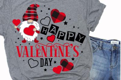Happy valentines day quote svg.