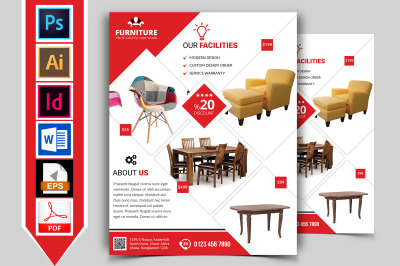 Furniture Shop Flyer Template Vol-03