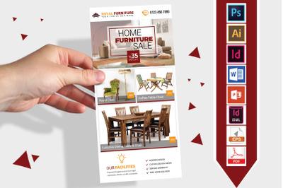 Rack Card   Furniture Shop DL Flyer- 02