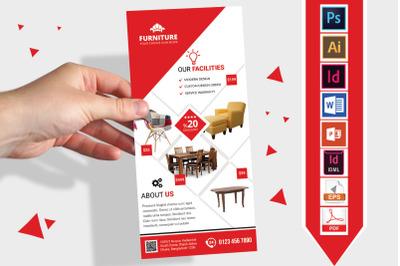 Rack Card   Furniture Shop DL Flyer- 03