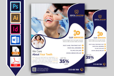 Dental Flyer Template Vol-01