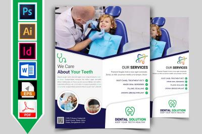 Dental Flyer Template Vol-02
