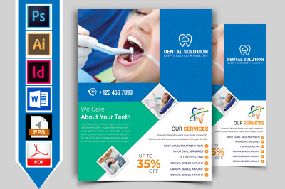Dental Flyer Template Vol-03