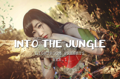 Into the Jungle Lightroom Presets