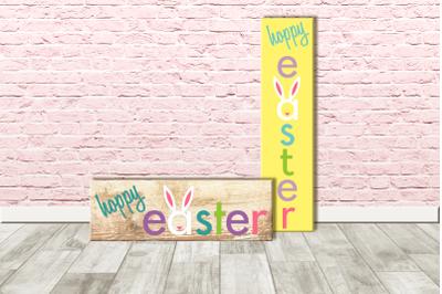 Hoppy Easter Porch Sign | SVG | PNG | DXF