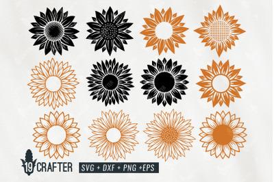 sunflower craft quality detail svg bundle