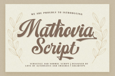 Mathovia Script