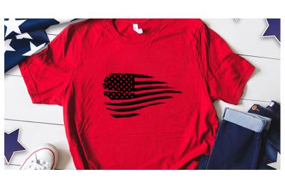 American flag distress svg for america tshirt