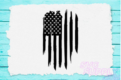 American flag distress vertical svg for america tshirt