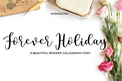 Forever Holiday Font