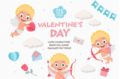 Valentines Day Graphic Set