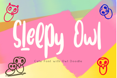 Sleepy Owl Fun Font