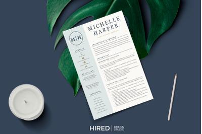 Professional & Modern Resume CV design, Cover Letter, References