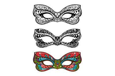 Festive masks set