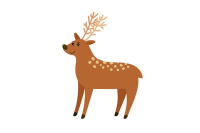 Deer On Category Thehungryjpeg Com