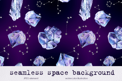 seamless space background