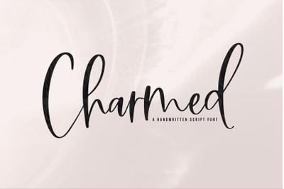 Charmed - Handwritten Script Font