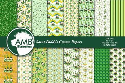 Saint-Patricks' Gnomes papers AMB-2707