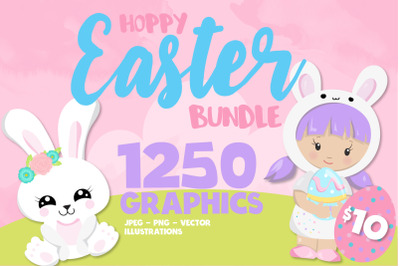 1250 Graphics - MEGA Easter Bundle