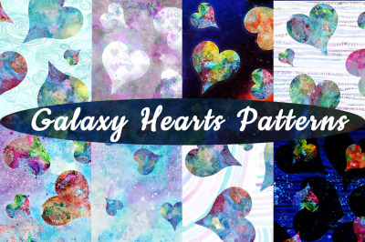 Galaxy Heart Patterns
