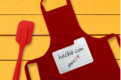 Hecho Con Amor Made with Love | SVG | PNG | DXF