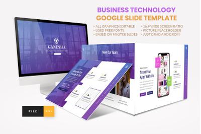 Business - Technology Google Slide Template