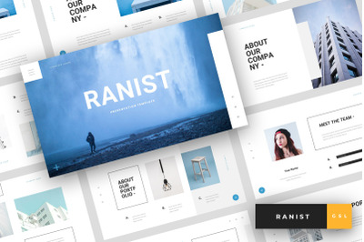 Ranist - Creative Google Slides Template
