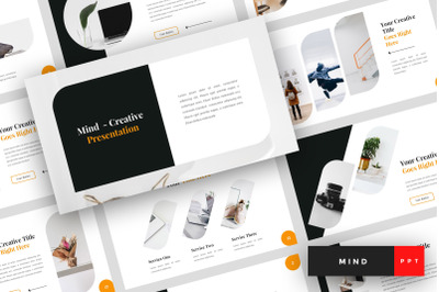 Mind - Creative PowerPoint Template