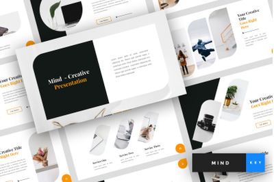 Mind - Creative Keynote Template