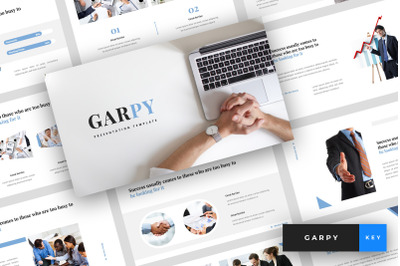 Garpy - Corporate Keynote Template