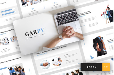 Garpy - Corporate Google Slides Template