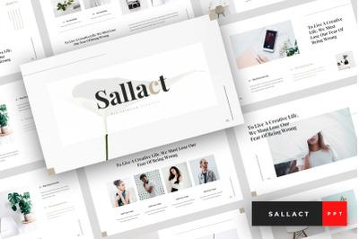 Sallact - Creative PowerPoint Template