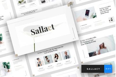 Sallact - Creative Keynote Template