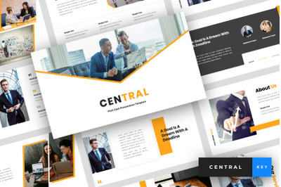 Central - Pitch Deck Keynote Template