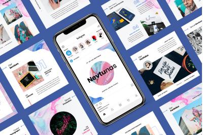 Nevtunas - Business Instagram Keynote Template