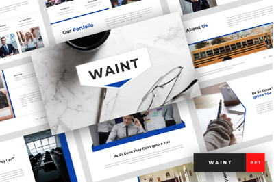 Waint - School PowerPoint Template