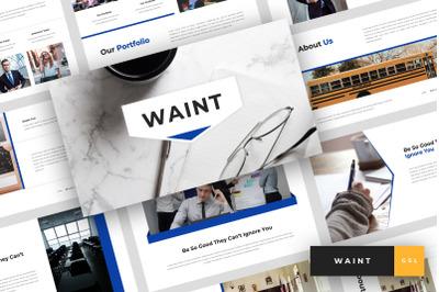 Waint - School Google Slides Template