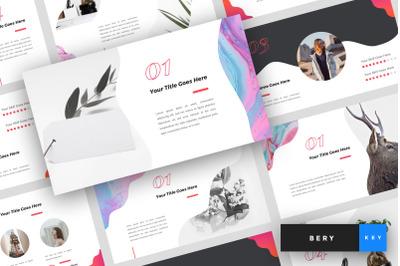 Bery - Creative Keynote Template