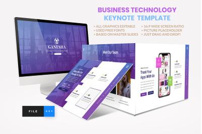 Business - Technology Keynote Template