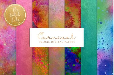 Digital Backgrounds Carnival & Holi Festival