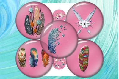 Dreamcatcher, Feather, Pendants Magnets