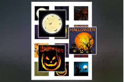 Halloween, Halloween Digital Collage